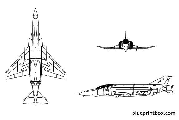 f 4 phantom ii model airplane plan