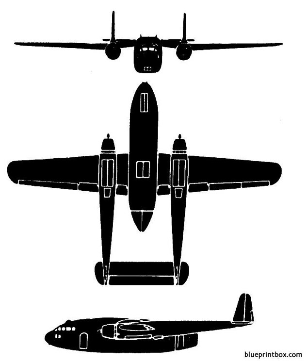 fairchild c 119 flying boxcar Plans - AeroFred - Download ...
