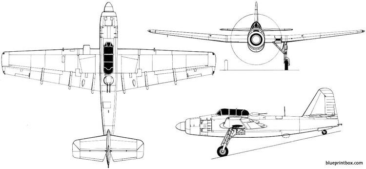 fairey spearfish 02 model airplane plan