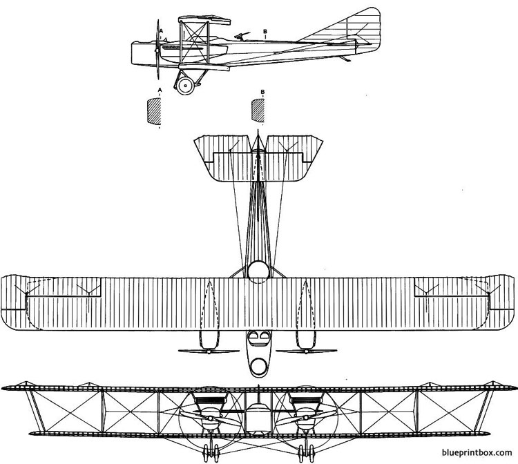 farman mf 50 model airplane plan