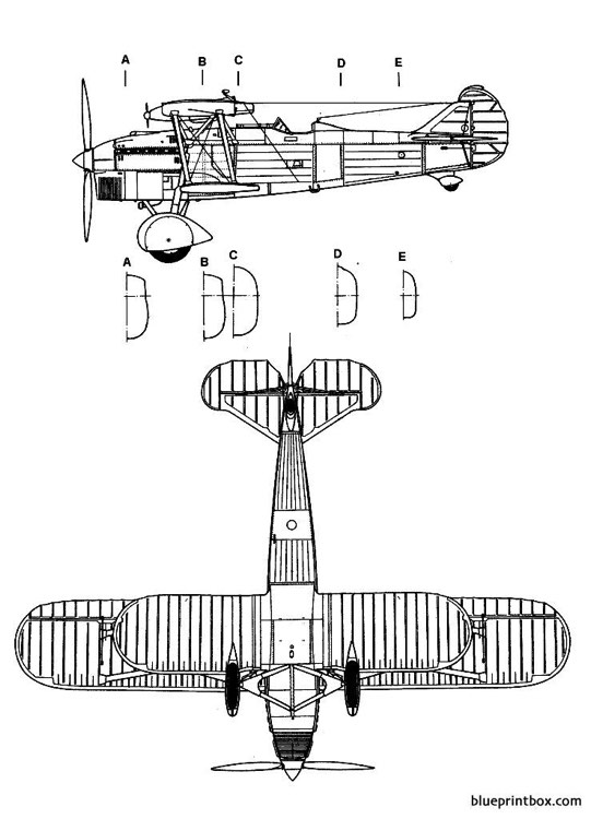 fiat cr 32 2 model airplane plan