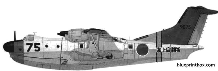 flying boat model airplane plan