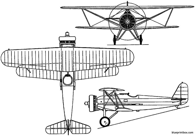 fokker d xvi 1929 holland model airplane plan