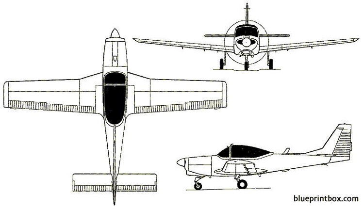 fwa as 202 bravo  as 32t turbo trainer 1969 switzerland model airplane plan