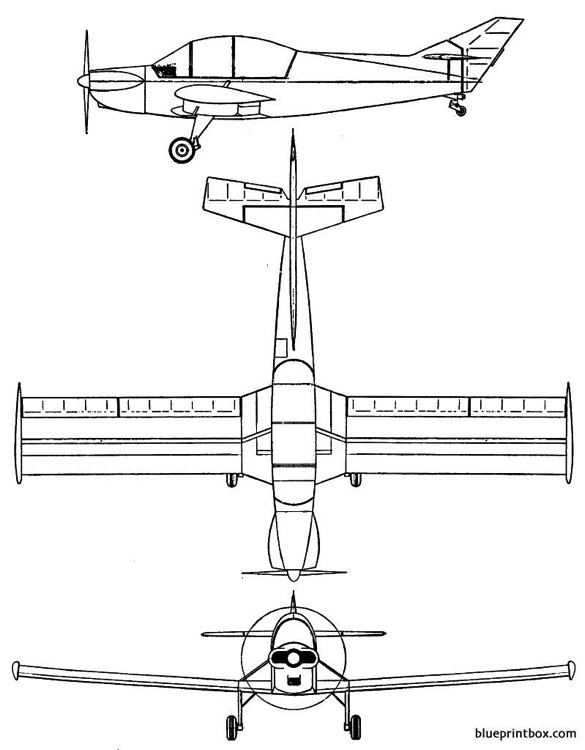 gaucher ga 620 gaucho model airplane plan