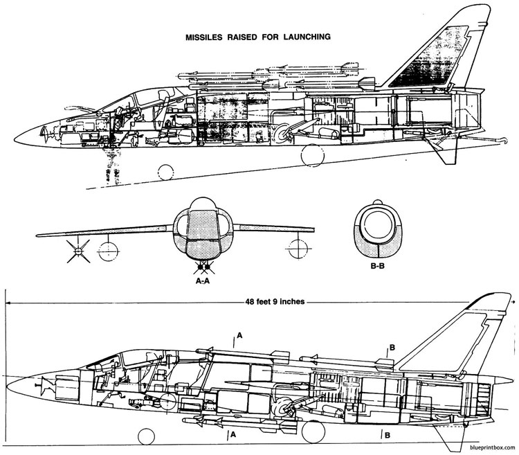 grumman f11f 1f tiger 10 model airplane plan