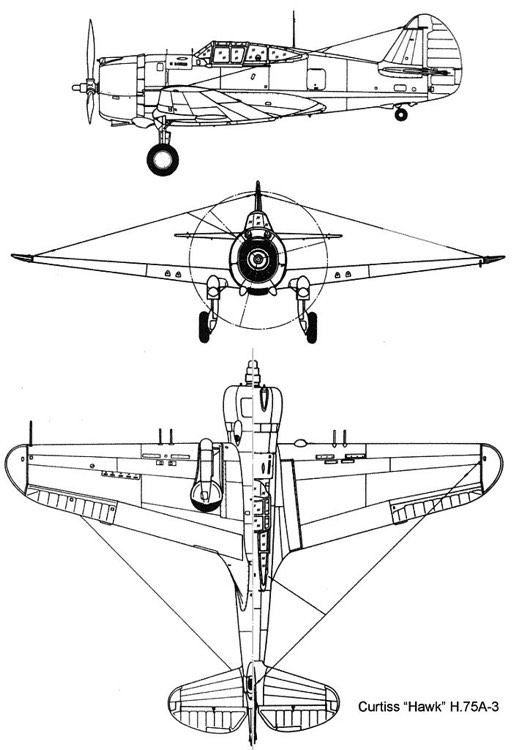 h75 3v model airplane plan