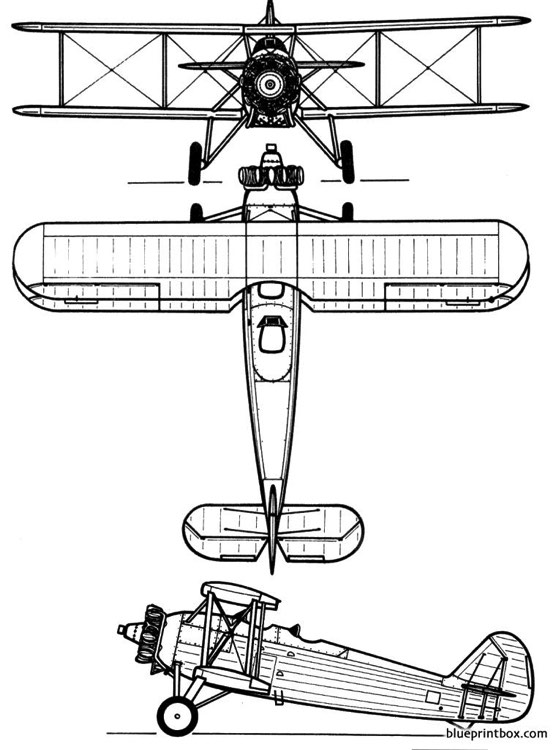 heinkel he 50 model airplane plan