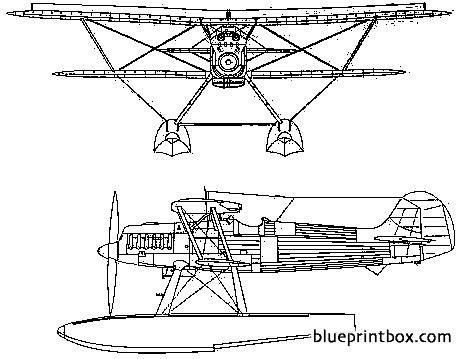 heinkel he 51b 2 model airplane plan