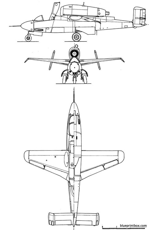 heinkelhe 162 salamander model airplane plan