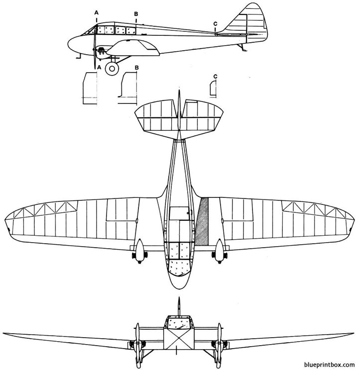 horden richmondautoplane model airplane plan