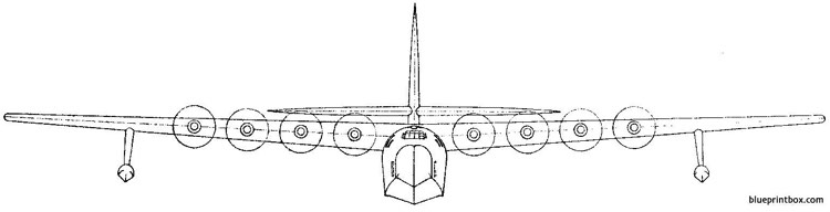 hughes hk  1 spruce goose 2 model airplane plan
