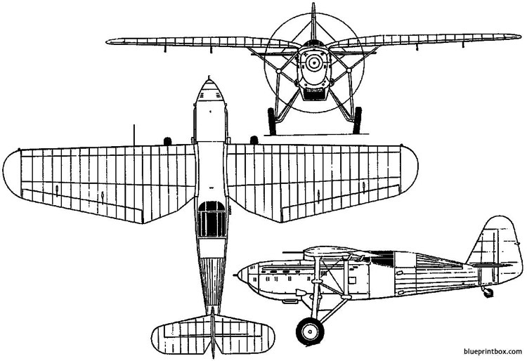 ikarus ik 2 yugoslavia model airplane plan