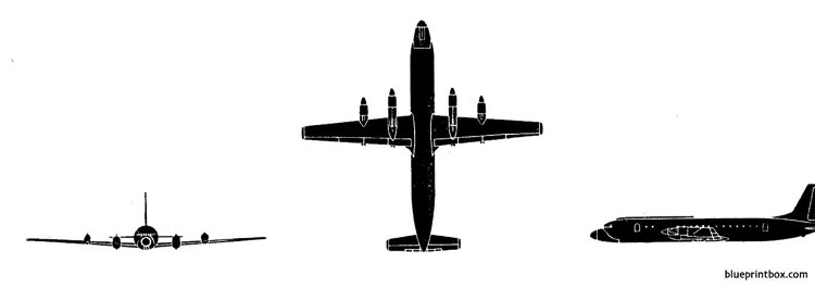 il 18 coot model airplane plan