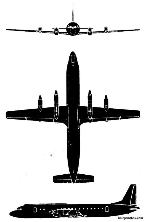 il 18p model airplane plan