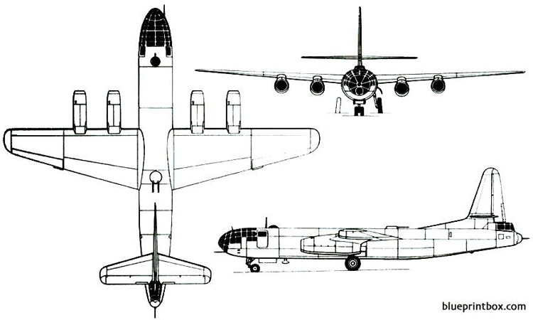 ilyushin il 22 1947 russia model airplane plan
