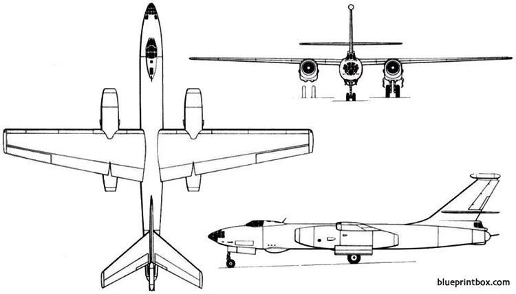 ilyushin il 46 1952 russia model airplane plan