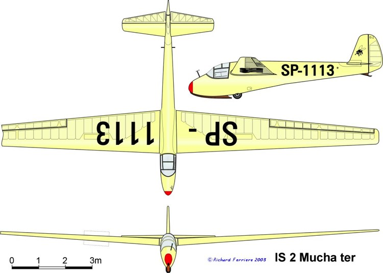 is2 3v model airplane plan