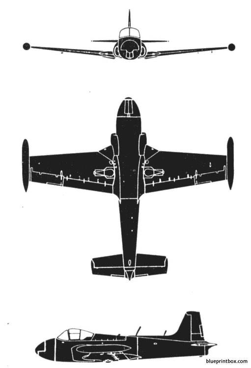 jet provost t3 model airplane plan
