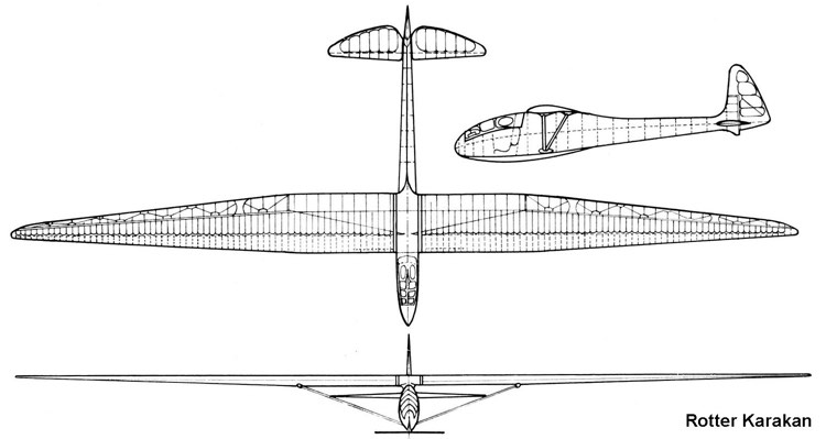 karakan 3v model airplane plan