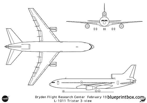 l 1011 model airplane plan