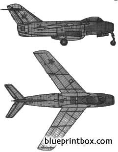 lavochkin la 15 model airplane plan