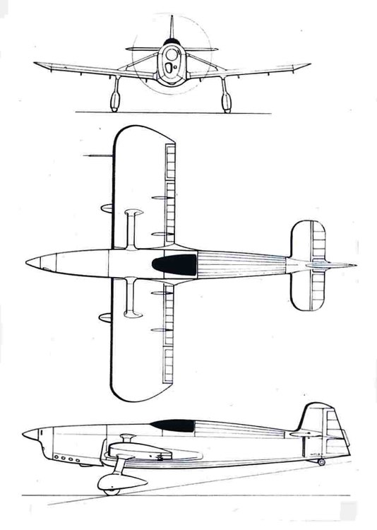 leduc rl02 3v model airplane plan