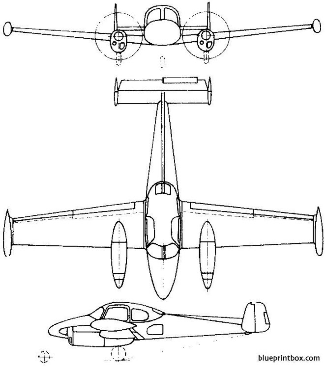 let l 200 morava 1957 czech model airplane plan