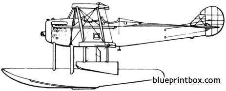 lewis  vought ve 9 1922 usa model airplane plan