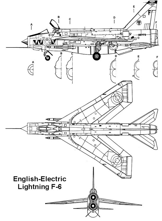 lightningf6 1 3v model airplane plan