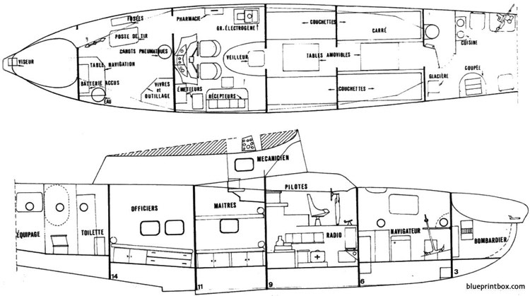 liore et olivier h470 04 model airplane plan