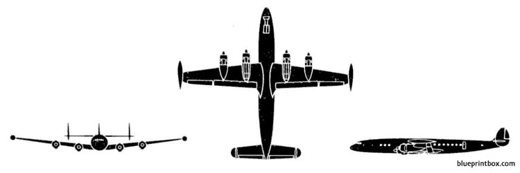 lockheed c 121 super constellation model airplane plan