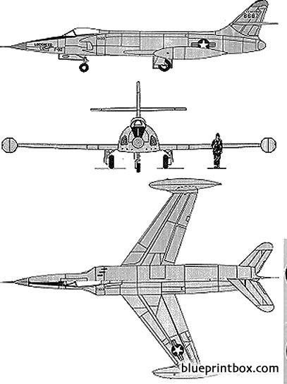 lockheed xf 90 model airplane plan