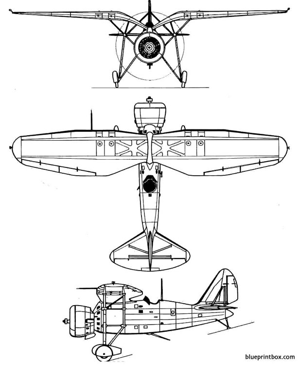 loire 46 model airplane plan
