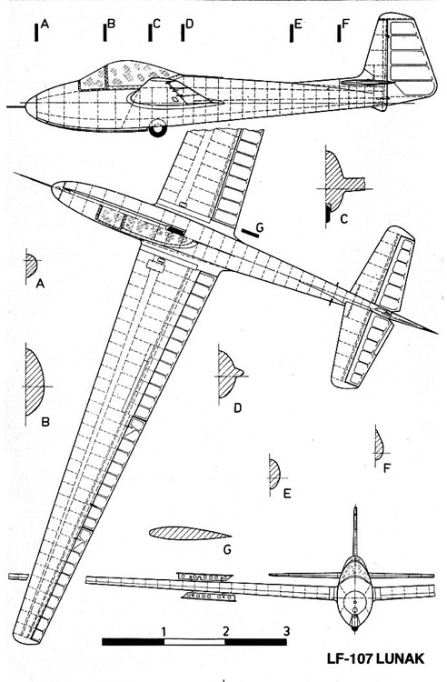lunak 3v model airplane plan