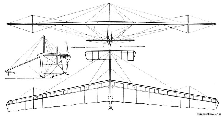 mac ready gossamer condor model airplane plan