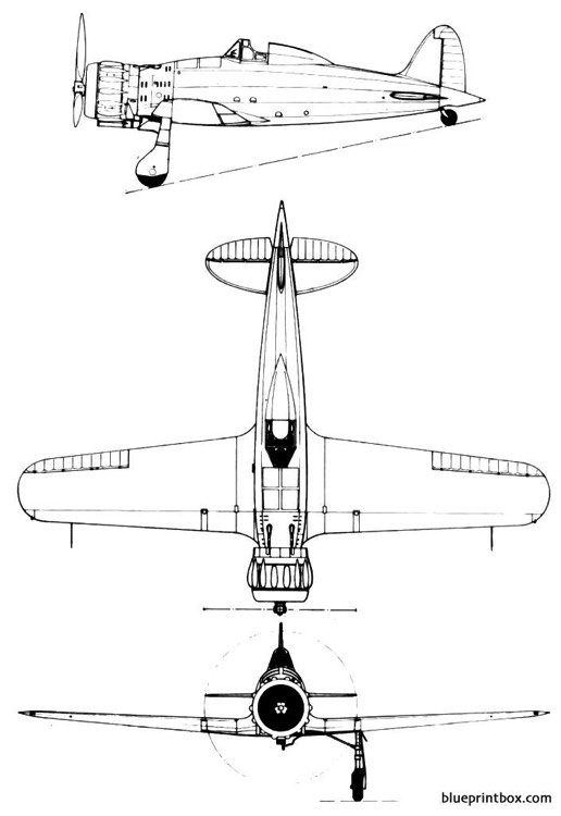macchi mc 200 model airplane plan