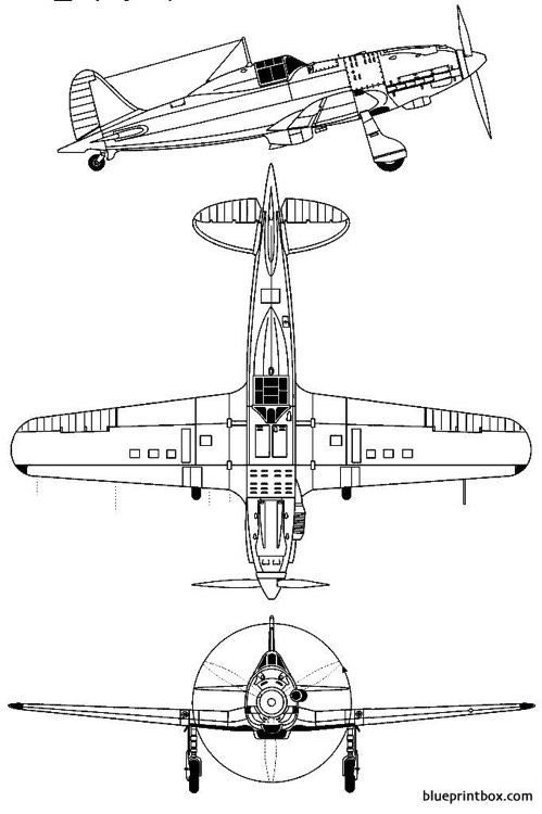 macchi mc 202 model airplane plan