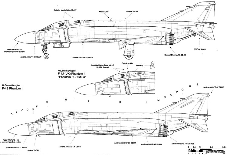 mcdonnell douglas f 4 phantom ii 4 model airplane plan