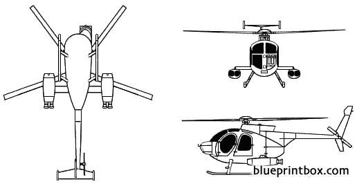 md 500md model airplane plan