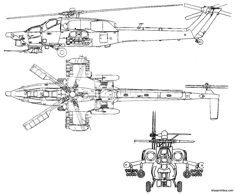mi 28 model airplane plan