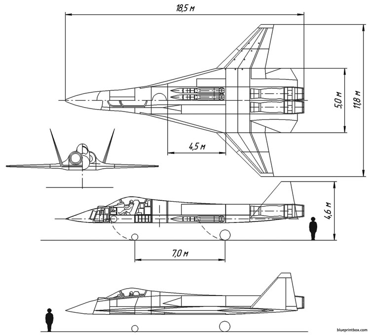 mig 127 project model airplane plan