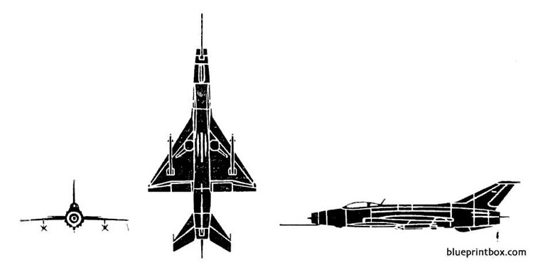 mig 23 fishbed model airplane plan