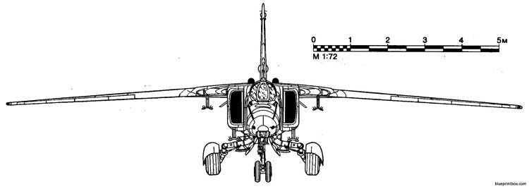 mig 27 2 model airplane plan