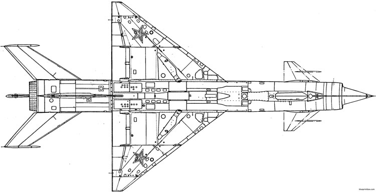 mig e 152 5 model airplane plan