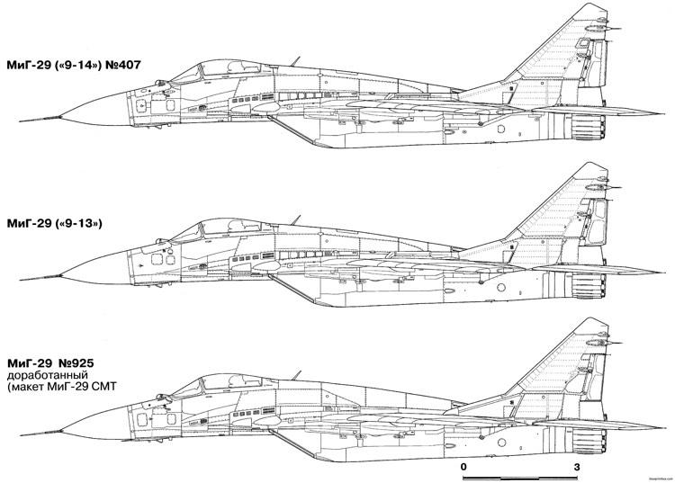 Mikoyan Gurevich Mig 29 14 Plans - Aerofred
