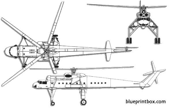 mil mi 10 harke b model airplane plan