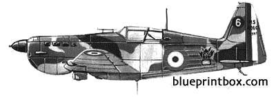 morane saulnier ms406 c1 model airplane plan