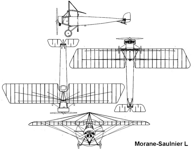 moraneL 3v model airplane plan