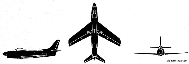 na sabre f 86d model airplane plan